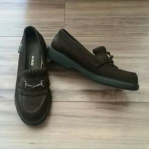 Eastland leather loafers